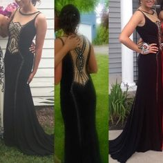 Jovani prom dress Only worn once, originally purchased for $575... Fits like a 4! PRICE IS NEGOTIABLE Jovani Dresses