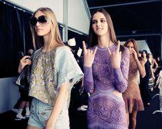 Roberto Cavalli Spring 2015 Milan Fashion Week | ℰllie's ℬlog