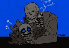 underswap sans and papyrus