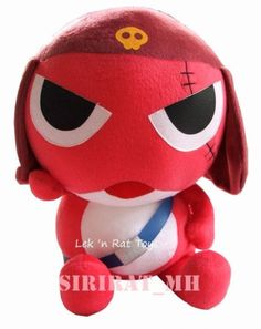16'' Giroro Keroro Gunso - Japan Anime Plush Doll Toy NEW Sergeant stuffed Frog