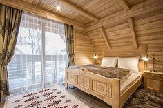 Willa Tatiana - cztery luksusowe wille w centrum Zakopanego Nespresso, Boutique, Bedroom, Furniture, Home Decor, Decoration Home, Room Decor, Bedrooms, Home Furnishings