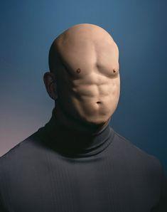 Hugh Kretschmer - Surrealist weird portrait for distorted belly-face. Photomontage, Creative Photography, Art Photography, Image Gag, Photoshop, Surrealism Photography, Weird And Wonderful, Surreal Art, Photo Manipulation