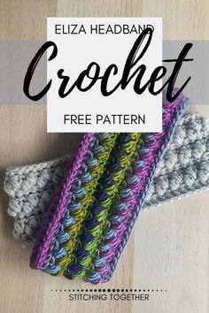 Crochet Ear Warmer Pattern, Crochet Cardigan Pattern, Crochet Beanie, Crochet Yarn, Free Crochet, Crochet Patterns, Crochet Headbands, Crochet Scarfs, Crochet Blouse
