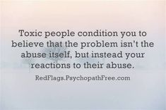 How toxic people choose to react – to your reaction. May 4, 2016 by Healing From Complex Trauma & PTSD/CPTSD