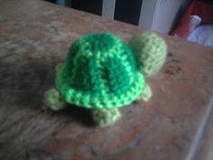 amigurumi tortuga, patrón gratis turtle free pattern