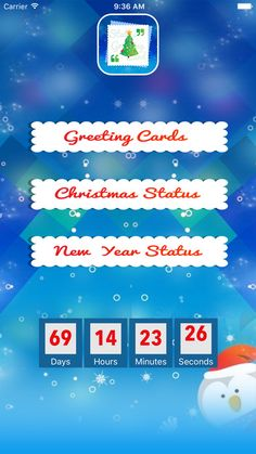 * New Year 2017 and christmas Quotes and cards are hear *  —> Wish christmas and New year with 100 and more Quotes —> Wish christmas and New year using most impressive selection of greeting cards —> Share latest 2017 special Quotes and greeting cards to friends and family —> Huge Collection of Latest 2017 Quotes and Greeting Cards —> Offline Quotes and Greeting Cards. —> Easy to share and copy. —> Select quotes as favorite. —> More than 100+ Quotes of new year and christmas