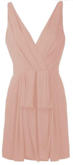 Saint Laurent Pleated Dress