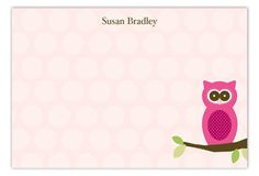 Valentine's Day is coming up. Find some personalized stationery for children that will be a real hoot at the school's Valentine's Day party. The Owl Love You Flat Note Card is available on Polka Dot Design's online invitation store. Online Invitations, Valentines Day Party, Personalized Stationery, Note Cards, Owl, Polka Dots, Love You, Notes, Flat