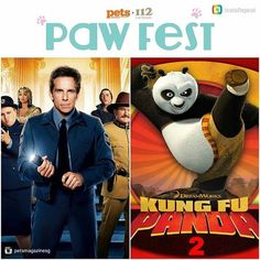 For those wondering what will be screened during Paw Fest's movie under the stars this weekend here is more info from @petsmagazinesg:   We dont know when local movie theatres will become pet-friendly so for Paw Fest 2016 weve taken things into our own hands and organised a rooftop movie screening especially for you and your furkid!   Want to join us to catch Kung Fu Panda 2 (Fri 2 Sept 8pm) and Night at the Museum: Secret of the Tomb (Sat 3 Sep 8pm)?   Simply spend $50 at I12 Katong from…
