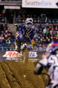 James Stewart - Seattle Supercross, Washington