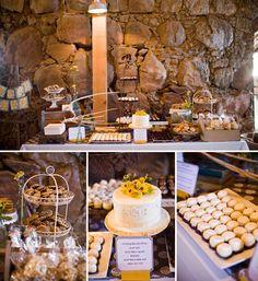 dessert table #wedding