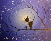 Whimsical art by MichaelHProsper Art Et Illustration, Whimsical Art, Cat Art, Painting Inspiration, Art Lessons, Painting & Drawing, Art Drawings, Art Projects, Art Photography