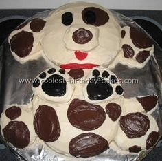 puppy cake - I am so going to make this for one of the kids birthdays