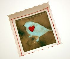 Tutorial: A Stenciled & Stitched Special Occasion Greeting Card