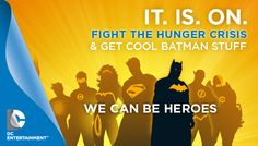 DC Entertainment: We Can Be Heroes   Indiegogo