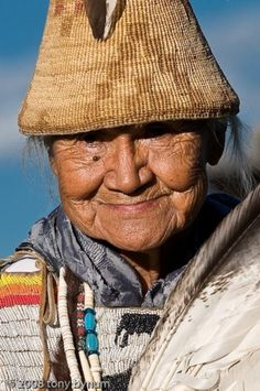 Native American-What a beautiful face!