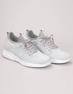 b33f60108d Mallet Footwear Grey Archway Trainers