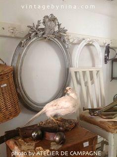 Vase antikgold Vintage Landhaus Antik Retro Shabby Jeanne d/'Arc Living