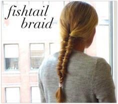 Fishtail Hair Braid. Look Great. It's Easy!