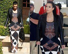 Kim Kardashian in Givenchy Maxi Tank dress