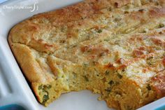 You don't have to be southern to make cheddar jalapeño spoon bread