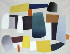 Jean Hélion (French, 1904-1987), Abstract Composition [Composition abstraite], 1934. Oil on canvas.