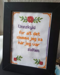 Guerrilla, Diy Projects To Try, Needlework, Qoutes, Cross Stitch, Bullet Journal, Embroidery, Humor, Memes