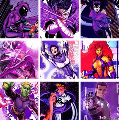 DC Heroes Purple