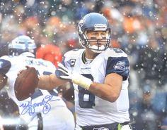 Matt Hasselbeck Autographed Seattle Seahawks 16x20 Photo MCS Holo Stock #111401