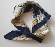 Light silk scarf from the brand Codello, so nice sailing style. Silk, Etsy, Boutique, Accessories, Fashion, Headscarves, Unique Jewelry, Ladies Accessories, Clothing Accessories