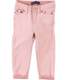 """Levi's """"Petal Pink"""" Denim Leggings (Sizes 12M - 24M) - petal pink, 18 months Levi's. $14.99"""