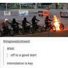 exite bike<<<or ghost rider,