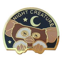 Gizmo lapel pin / la barbuda #gizmo #gremlins #mogwai #donotfeedmeaftermidnight #nightcreature #labarbuda #labarbudashop #pin #lapelpin #cutepin #enamelpin