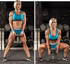 4 Effective At-Home Weight-Loss Workouts! - Bodybuilding.com.     ... http://scotfin.com/ says, my home gym isn't quite equipped like this; I mean with respect to the weights, not her.