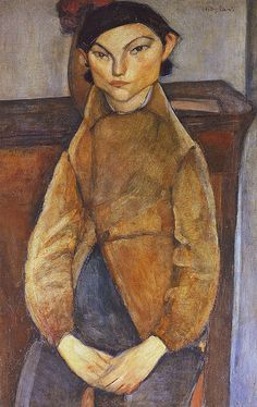 Modigliani • Young Gypsy