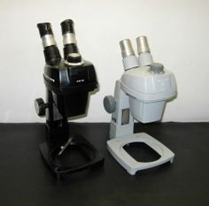 Lot of 2 Bausch Lomb Microscopes 0 7x 3X for Parts Repair | eBay