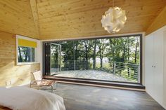 Glas-Faltwand - Schlafzimmer im Freien : Modern Fenster & Tür von Solarlux GmbH