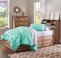 Crossmill Twin Storage Bed