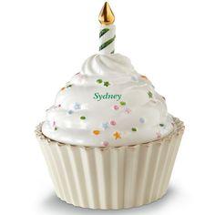 Birthday Cupcake For You Figurine By Lenox