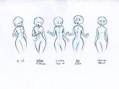 """Dibujos Rápidos en """"Los Increibles"""" PIXAR"""