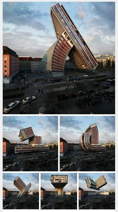 Victor Enrich Is A D Rendering Using Photoshop He Turns Normal - City portraits surreal architecture photos by victor enrich