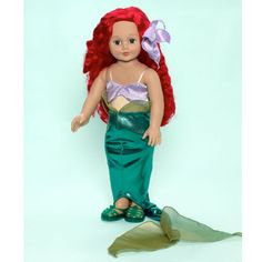 Madame Alexander 18 Inch Dolls   Details about Madame Alexander Disney Princesses Ariel 18-inch Doll