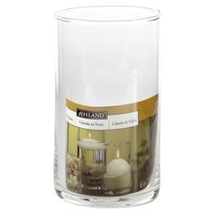 <div> <div>Create your one-of-a-kind style when you use this elegant and simple glass candle hol...