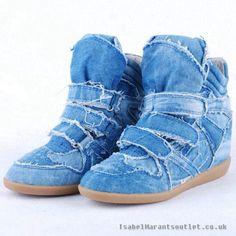 Farkku kengät