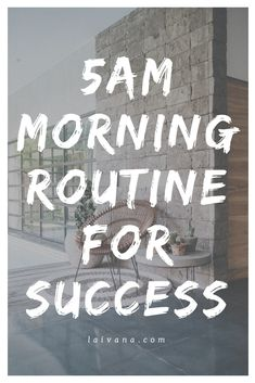morning routine for success // My productive morning routine that includes going to the gym, meditation, gratitude list etc. Getting up earlier helps me to be more productive and to work on my Evening Routine, Night Routine, Time Management Tips, Stress Management, Healthy Morning Routine, Morning Routines, Morning Habits, 5am Club, Mental Training