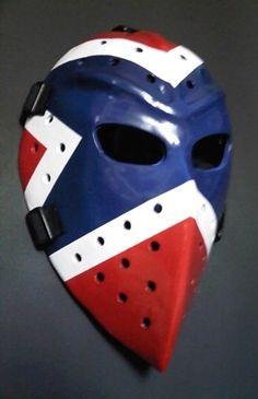 WAYNE THOMAS Vintage Goalie Mask Hockey Rangers Style http://www.ebay.com/itm/WAYNE-THOMAS-Vintage-Goalie-Mask-Hockey-Rangers-Style-/230815936756?pt=LH_DefaultDomain_0=item35bdb3b0f4#