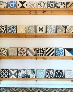 """115 Likes, 6 Comments - Clay Imports Austin (@clayimports) on Instagram: """"New additions to our cement tile selection! Have you been to our Austin north side studio yet?…"""""""