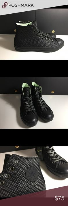 Men's Converse Chuck Taylor II Hi woVen NEW % authentic, directly from Converse.  ✅ Brand New in box.   ✅ Will Ship Out Next Day (Mon-Fri) ✅ Open to reasonable Offers ✅Send any other ❓my way! No Trades unfortunately                          Thanks for looking! ✌. Converse Shoes Athletic Shoes