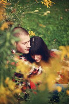 Rustic - vintage - engagement shoot - barn wedding - plaid - pond - wagon - rustic wedding theme