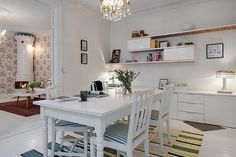 DECO: scandinavian feminine apartment
